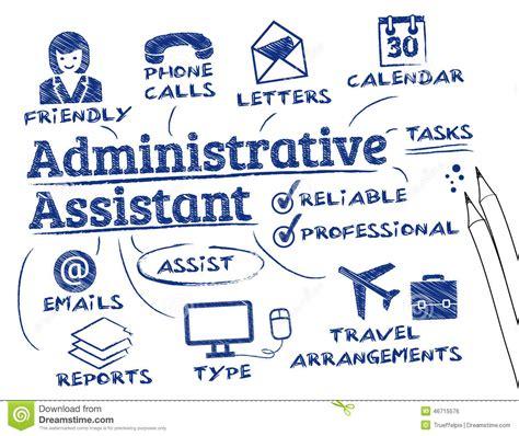 assistant de bureau assistant administratif illustration stock image 46715576