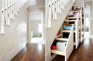 Treppe Mit Stauraum : 50 wohnungseinrichtung ideen charakter und ~ Michelbontemps.com Haus und Dekorationen