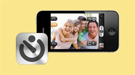 selfie app for iphone take a selfie with best free iphone self timer app