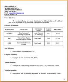 sas resume sle for fresher 10 fresher teachers resume sle invoice template