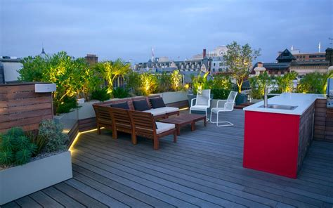 Roof Top Terrace : Rooftop Living, Design, Style And