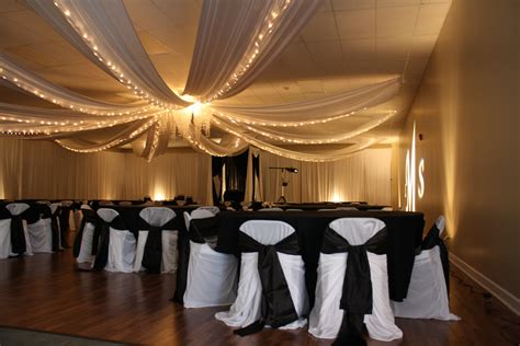 draping walls wedding reception justin s probably right about the reception room needing