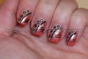 Love nailart simple nail design for short nails