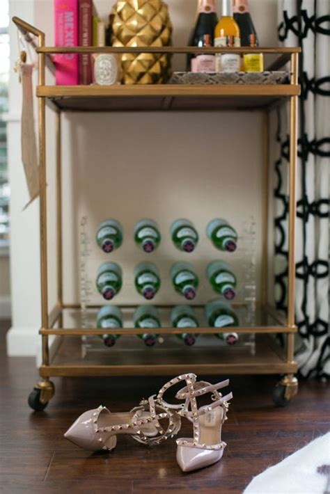 How To Decorate A Bar by How To Decorate A Bar Cart Chronicles Of Frivolity