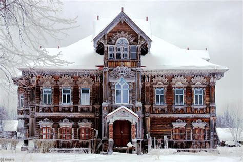 Beautiful Country House In Russia
