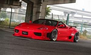 Ferrari Liberty Walk : tuningcars liberty walk ferrari 360 wide body kit ~ Medecine-chirurgie-esthetiques.com Avis de Voitures