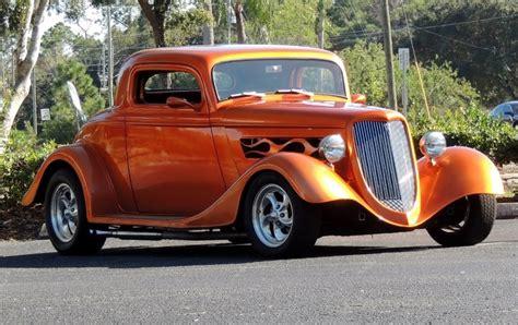 ford custom  window coupe street rod hollywood