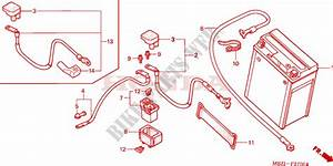 Battery For Honda Cb 600 F Hornet 2005   Honda Motorcycles