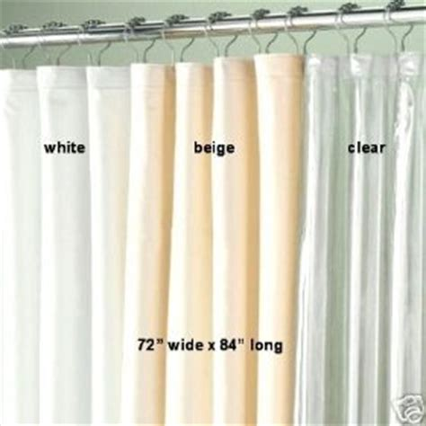 shower curtain liners 72 quot x 84 quot bath clear