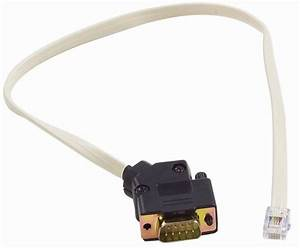 Base To Circulator Serial Cable  Rj11 To Db9 Male