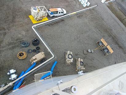 sandblasting water jetting fireproofing equipment
