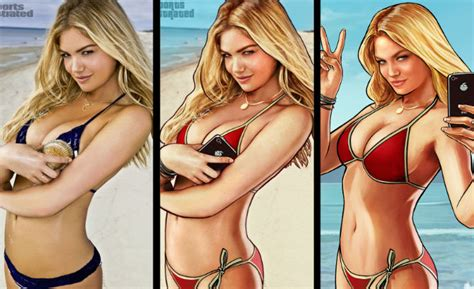 A Kate Upton 'GTA 5' Lawsuit Has A Better Chance Than ...