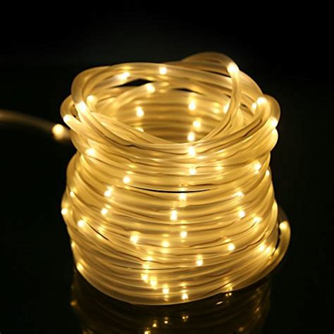 le 33ft 120 led dimmable rope lights battery powered