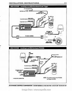Msd  Ignition  Wiring Diagram Practical Wiring Diagram
