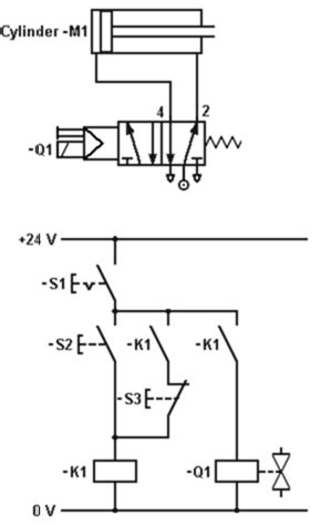 Experiment Latching Relay Circuit Iamtechnical