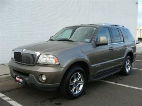 Paramus Mitsubishi by Used 2004 Lincoln Aviator Luxury Awd For Sale Stock
