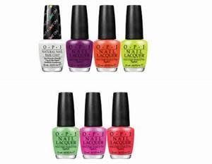 Nail polish OPI Neon Collection