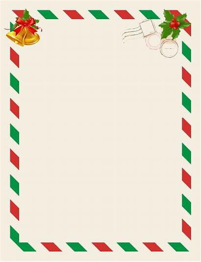 Letter Santa Blank Claus Clip Clipart Yopriceville
