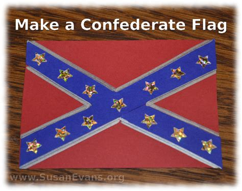 confederate flag colors make a confederate flag susan s homeschool susan s