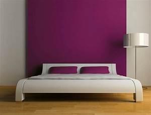 Peinture Chambre Adulte 2 Couleurs : couleur pour chambre adulte ~ Zukunftsfamilie.com Idées de Décoration