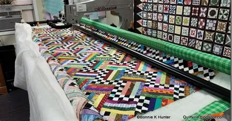 quiltvilles quips snips checkerboard railsa quilting finish