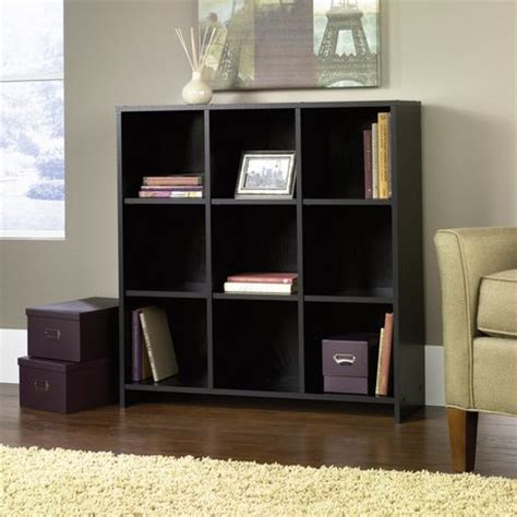 sauder beginnings organizer bookcase ebony ash sauder beginnings organizer bookcase black oak finish