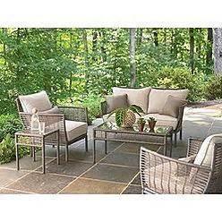 bouchelle 5 patio seating set ty pennington outdoor