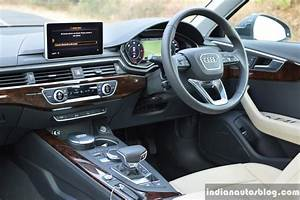 2017 Audi A4 35 TDI interior First Drive Review - Indian ...