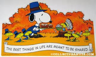 peanuts thanksgiving fall press out designs collectpeanuts