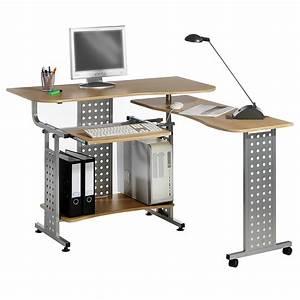 Computer Arbeitsplatz Möbel : pc schreibtisch computertisch mit tastaturauszug home office arbeitsplatz ebay ~ Indierocktalk.com Haus und Dekorationen