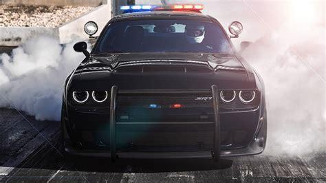 Dodge Challenger Srt Demon Police Concept Is A Cops Dream