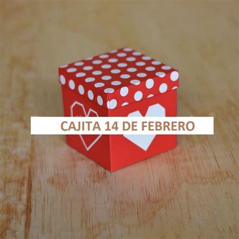 cajita 14 de febrero caja de regalo san valentin paq 50 pz 550 00 en mercado libre