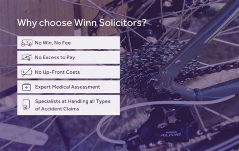 Cycling Accident Claims With Winn Solicitors