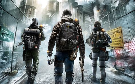 bureau gaming tom clancy 39 s the division 2015 wallpapers hd