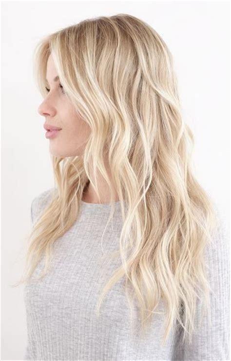 blonde balayage hair colors  highlights balayage blonde