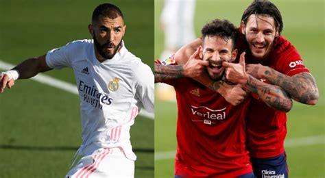 Osasuna Vs Real Madrid : Osasuna vs Real Madrid en vivo ...