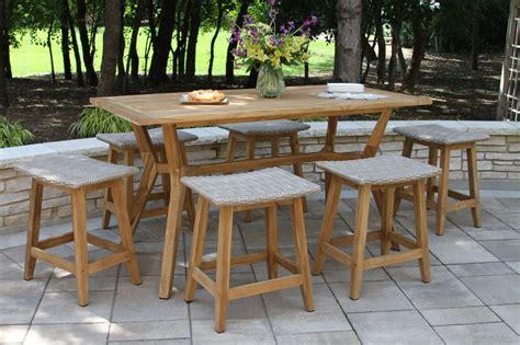 teak wicker furniture collection  outdoor interiors