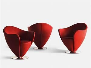 Petit Fauteuil Design : petit fauteuil cuir design id es de d coration int rieure french decor ~ Teatrodelosmanantiales.com Idées de Décoration