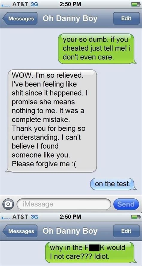 funny caught cheating texts    awkward