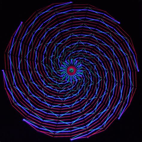 spiral blacklight stringart by string on deviantart