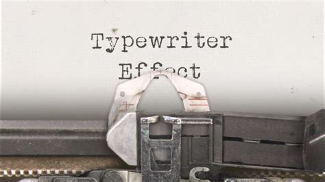 typewriter effect custom animation   effects