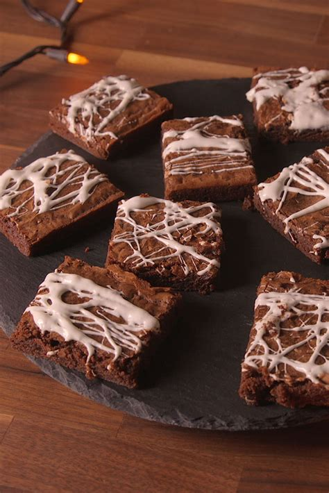cobweb brownies recipe    cobweb brownies
