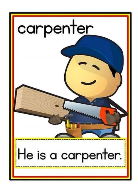 jobs flashcards  preschool  homeschool
