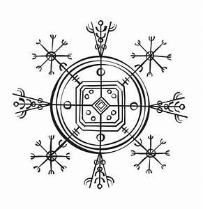 Symbole Mythologie Nordique : icelandic invisibility cloak magic signs icelandic tattoo artiste tatouage magique ~ Melissatoandfro.com Idées de Décoration
