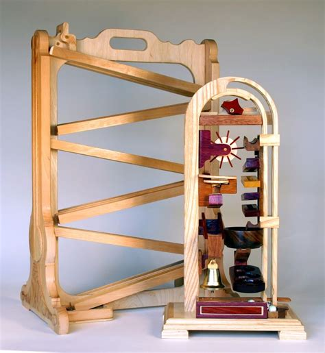table top marble runs woodworking plan