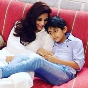 Sonali Bendre with her son Ranveer - Personal Photos ...