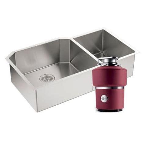 sink in the kitchen kohler strive undermount stainless steel 35 in 0 5282