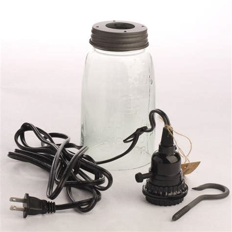 Mason Jar Pendant Lamp Kit Making Basic Craft