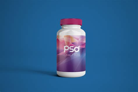 You can use this bottle mockup to showcase your packaging designs on the label of the bottle. Plastic Pill Bottle Mockup Free PSD | PSD Graphics