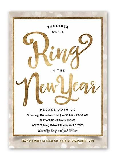 Eve Years Themes Invitation Invitations Shutterfly Creative